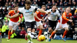 Blackpool vs Derby County